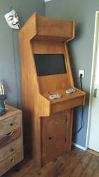 my home made arcade by call-me-funky