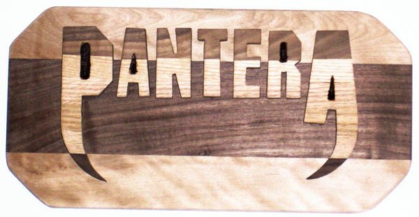 Pantera plaque by ASTR0-Z0MBIE