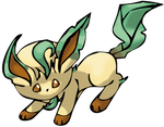 Chibi Leafeon