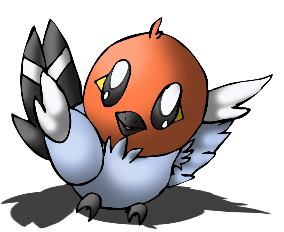Fan Art - Pokemon - Fletchling by LostButterfly92 on ... Fletchling