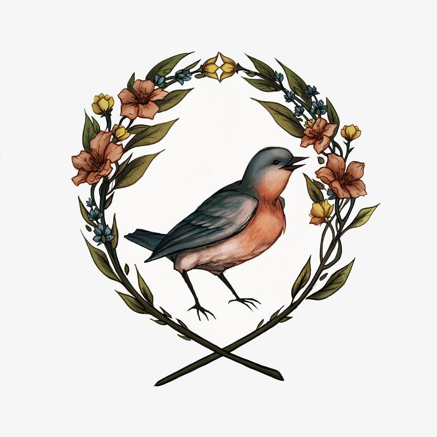 Bluebird by Evanira