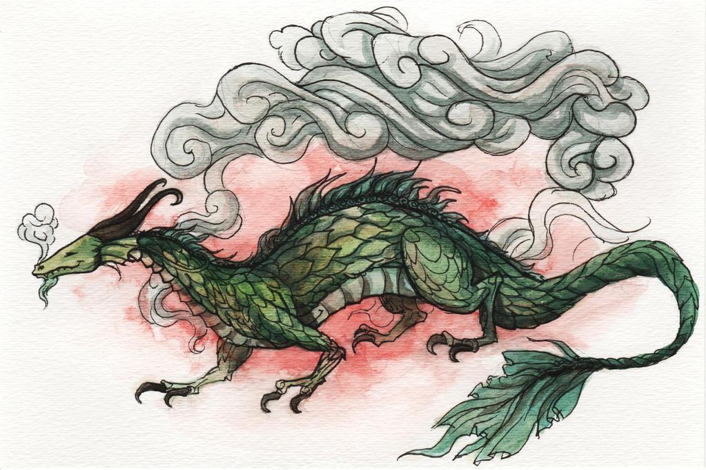Green Dragon by Evanira