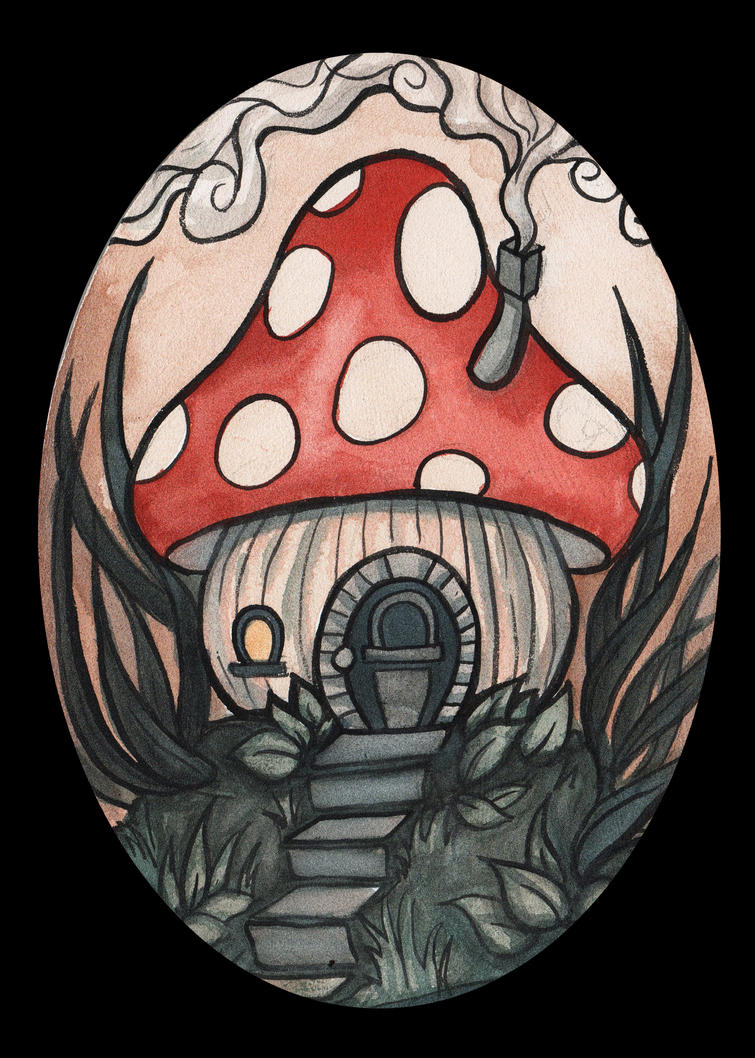 Fairy House 1 by Evanira