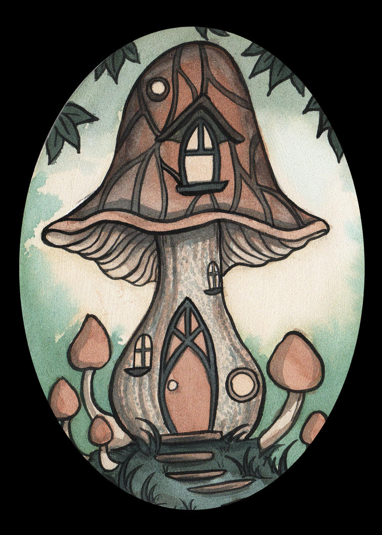 Fairy House 2 by Evanira