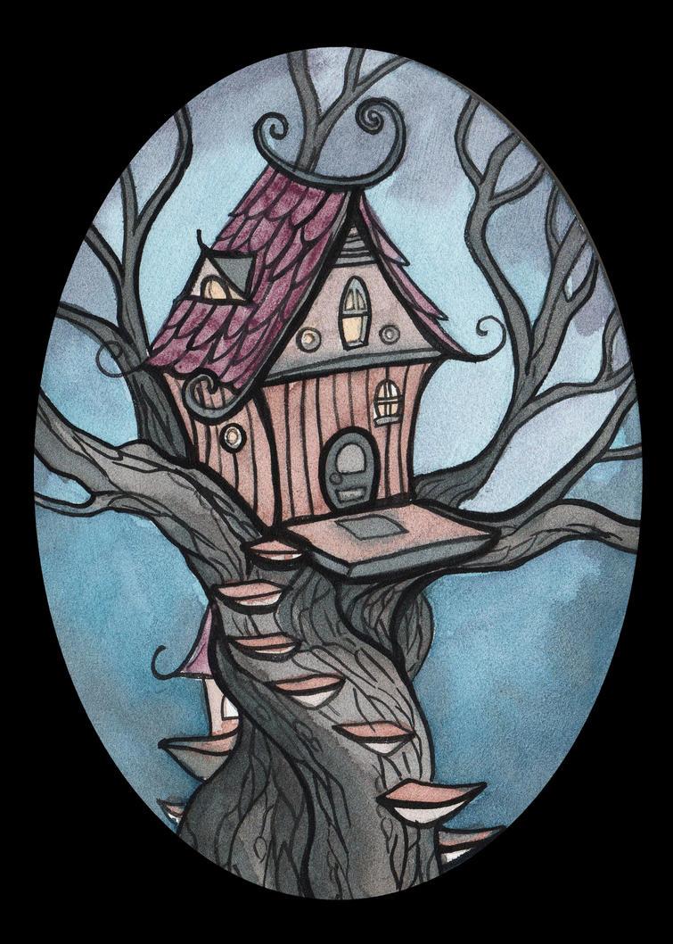 Fairy House 3 by Evanira