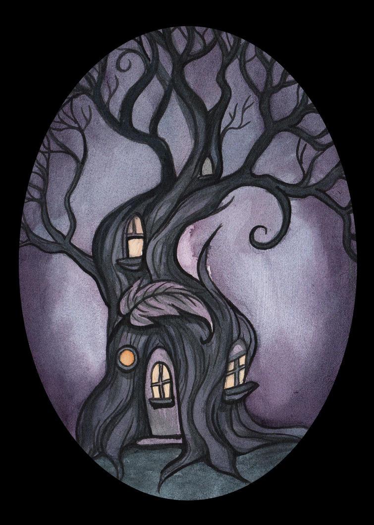 Fairy House 4 by Evanira