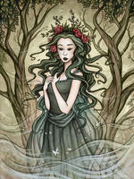 The Queen of Spring by Evanira