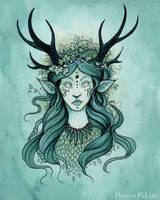 Lady of the Ivy by Evanira