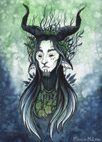 The God of Root and Thorn by Evanira