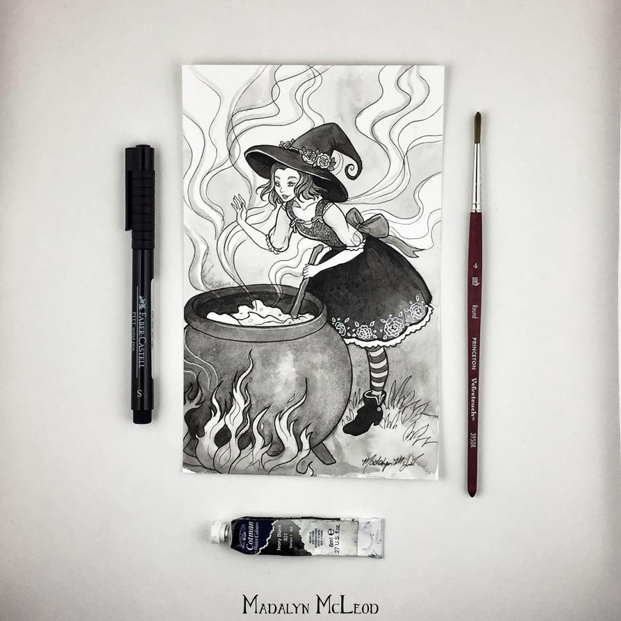 The Witch by Evanira