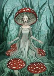 Unseelie Mushroom Fae
