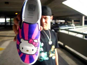 My Hello Kitty Kicks by 2thfairy