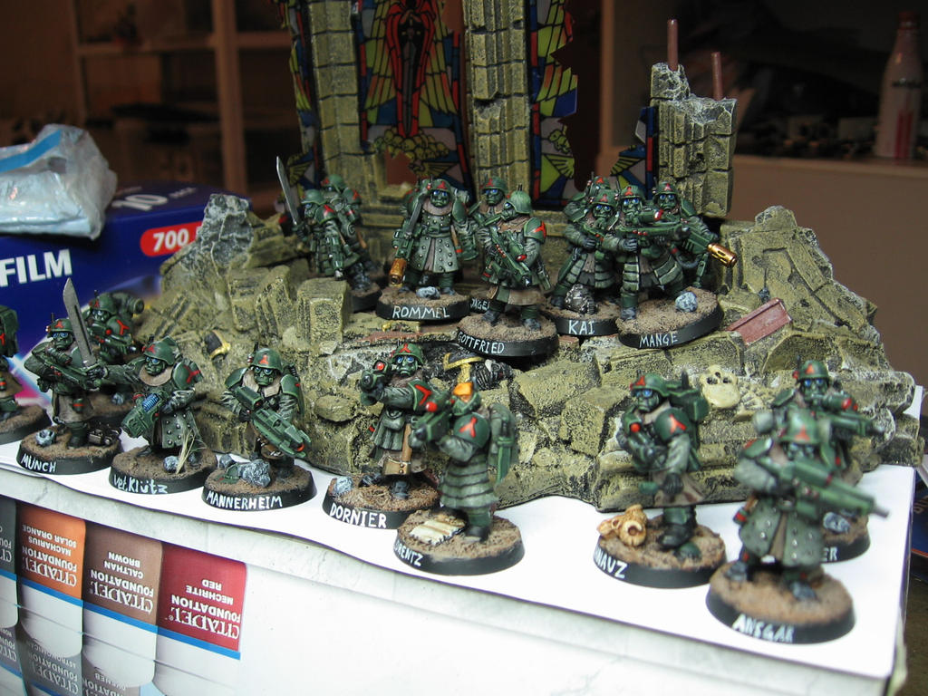 Stormtrooper squads by Durnstaros