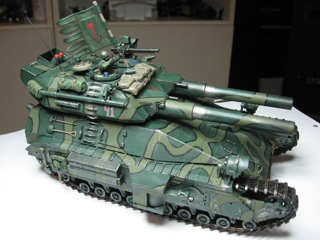 Leviathan heavy tank by Durnstaros