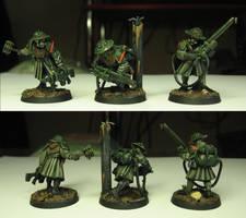 Ylmaharian assault team by Durnstaros