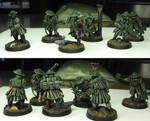 Assault team second half