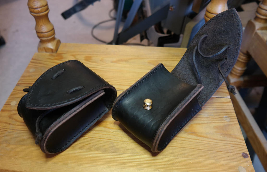 Twin belt holsters by Durnstaros