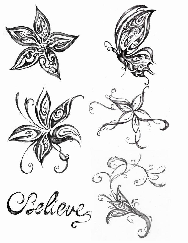 d4a126f9887b5 5 Tatoos: Detail Butterfly tattoo designs back