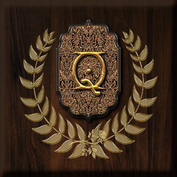 Secret Garden Emblem Alphabet by TheAngeldove
