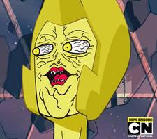 Yellow Diamond Derp Face