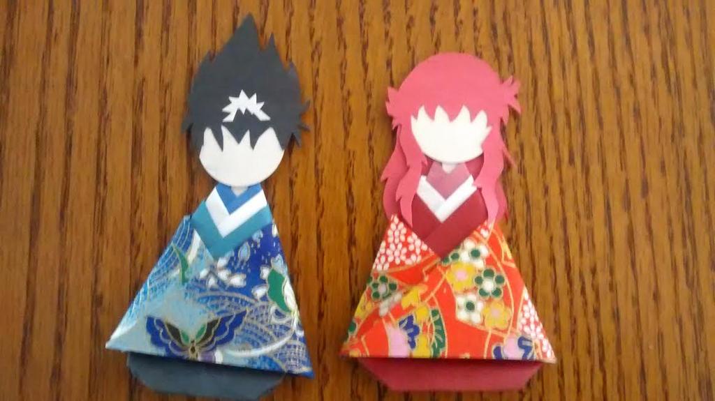 Hiei & Kurama Paper Dolls by Koluna-Hikoshi