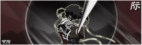 Afro-Samurai Sig by zevin