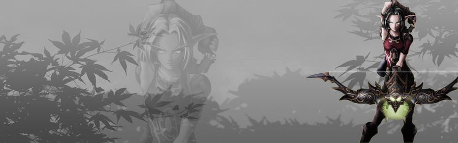 Seridyn Blood Elf Huntress by zevin