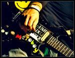 custom guitar by curan