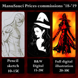 Prices commissions