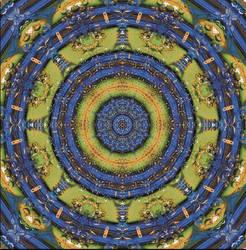 Mandala by marbrure