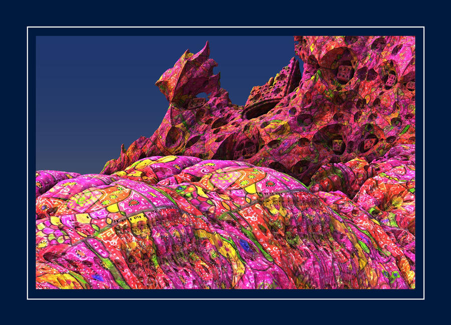 The psychedelic land of Domeng by marbrure
