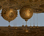 Lampshade Factory - Hommage to Montgolfier