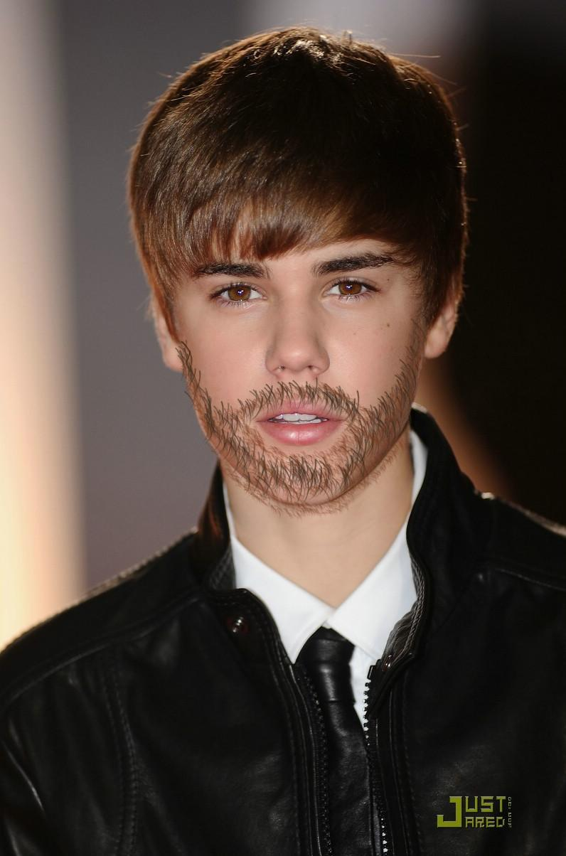 Justin Bieber Beard | newhairstylesformen2014.com