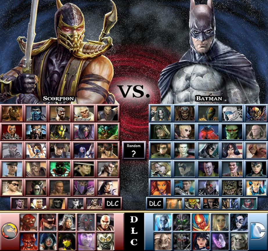 Mortal kombat vs dc universe скачать игру