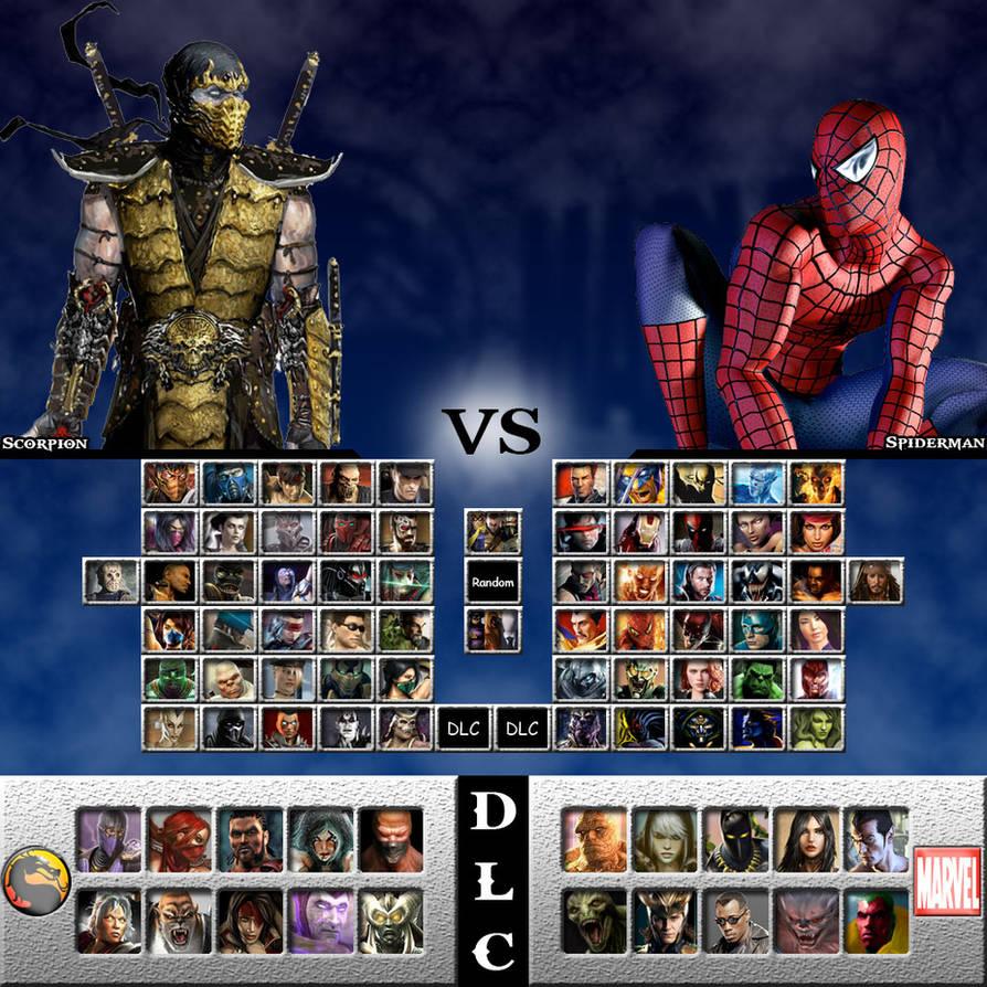 Mortal Kombat vs  Marvel Universe by genius-spirit on DeviantArt