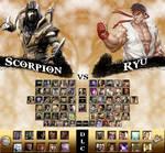 Mortal Kombat vs. Street Fighter Universe
