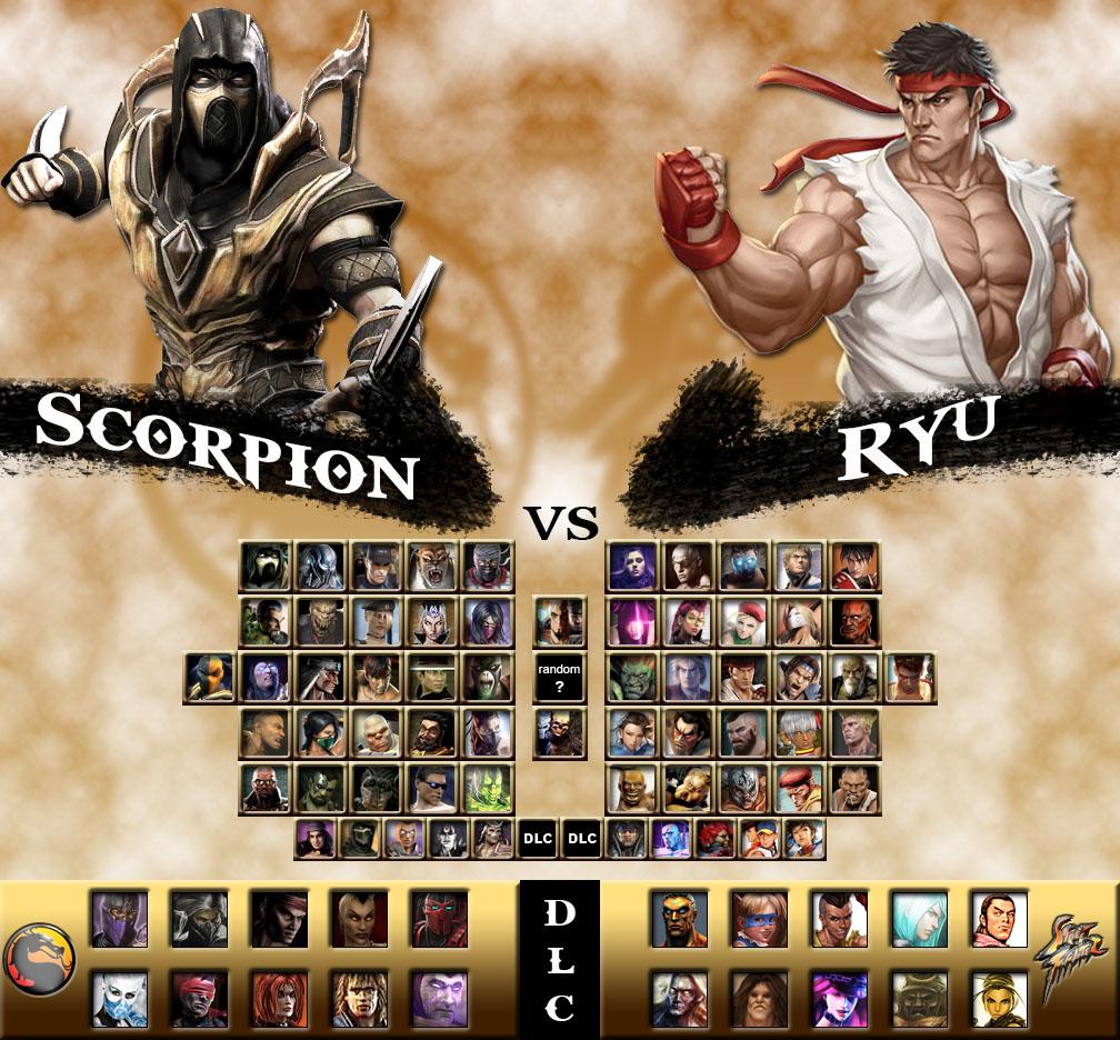 Mortal Kombat vs  Street Fighter Universe by genius-spirit