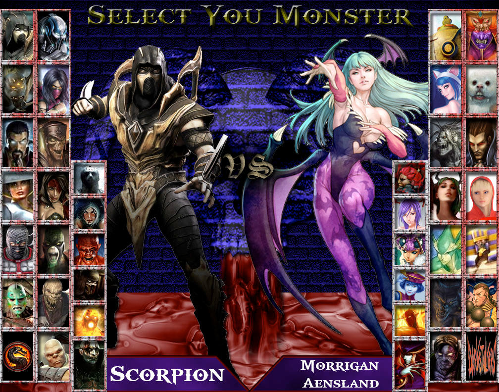 Monster Kombatants Vs Darkstalkers By Genius Spirit On Deviantart