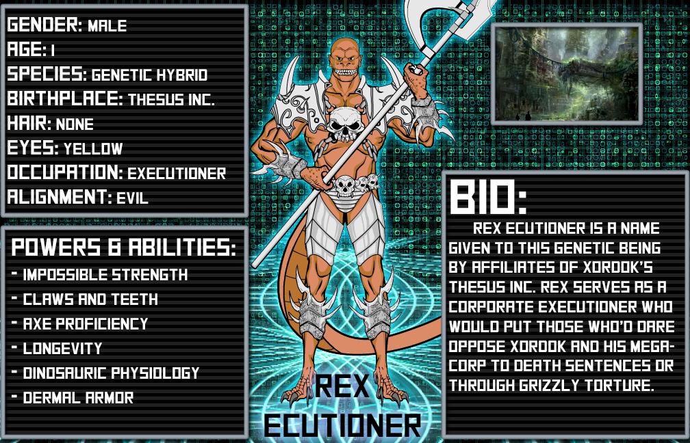 Cyber Cataclysm: Rex Ecutioner by sprite-genius on DeviantArt