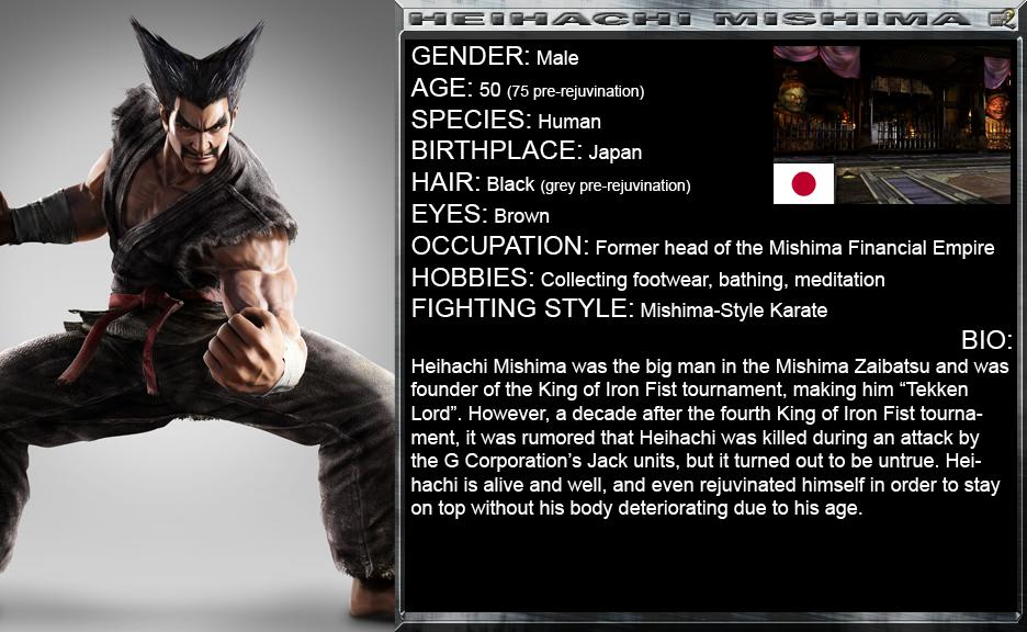 Brutal Fists 2 Heihachi Mishima By Genius Spirit On Deviantart