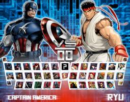 Avengers vs. Street Fighter