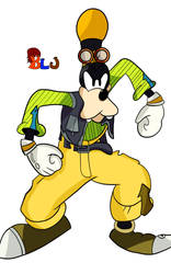 Angry Goofy by B-L-J