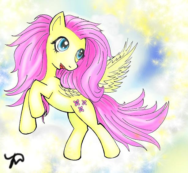 Fluttershy (My Little Pony) by Kardischian