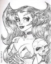 Luxura Sketch by ferah11