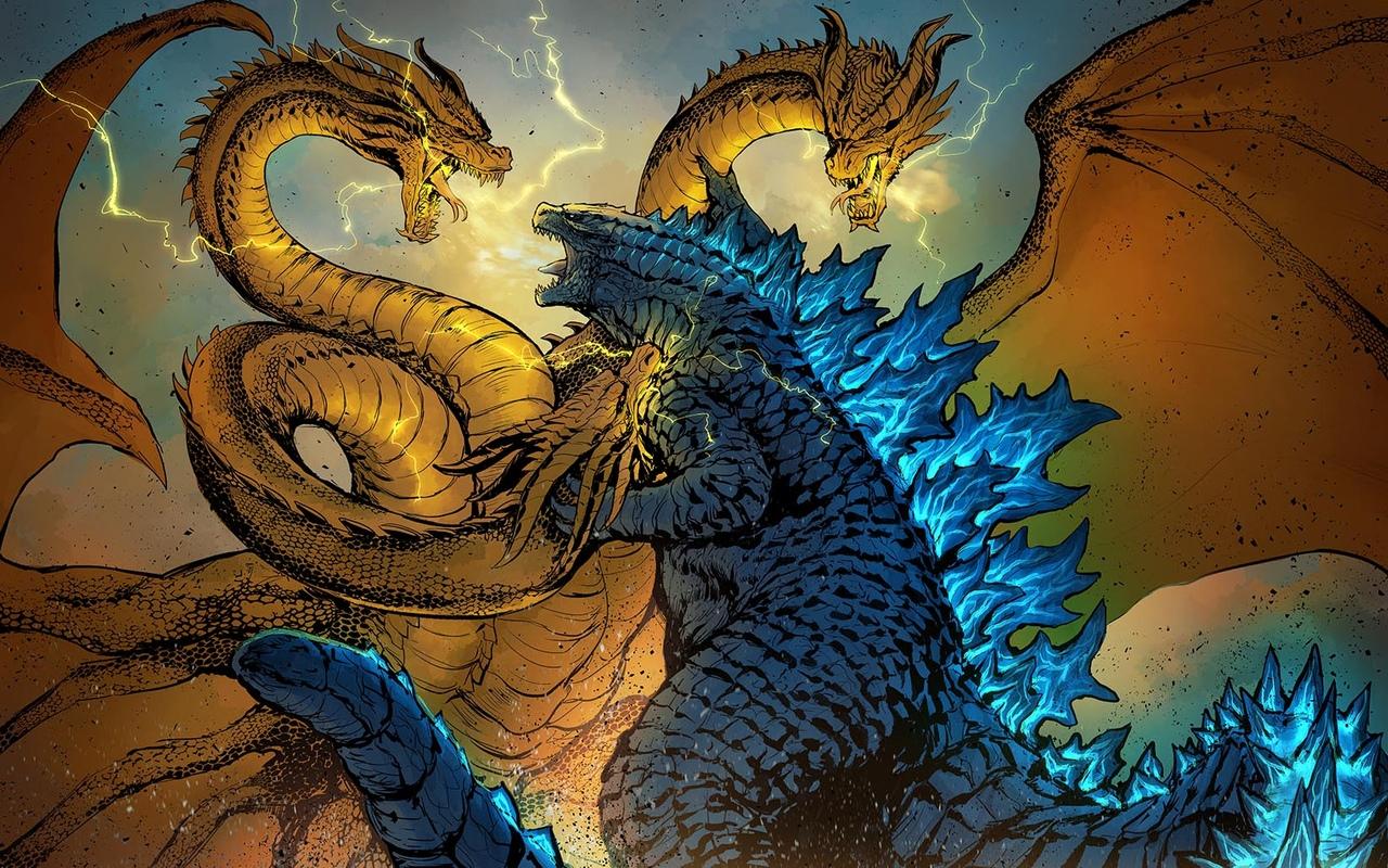 Godzilla 2019 Vs King Ghidorah 2019 Epic Battle By Misssaber444 On