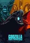 Godzilla King Of The Monsters: Cover 3