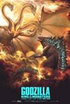 Godzilla 2019 vs King Ghidorah 2019 2 Kings by MissSaber444