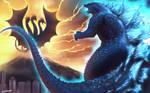 The Legedary of Godzilla vs King Ghidorah