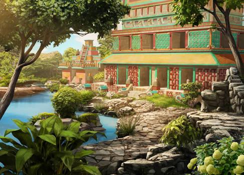 Mayan Jungle Tide Pools