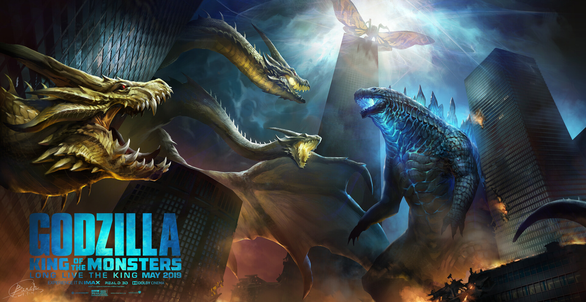 Godzilla King of The Monsters wallpaper by MissSaber444 on ...